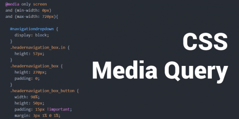 CSS Media Query Teaser