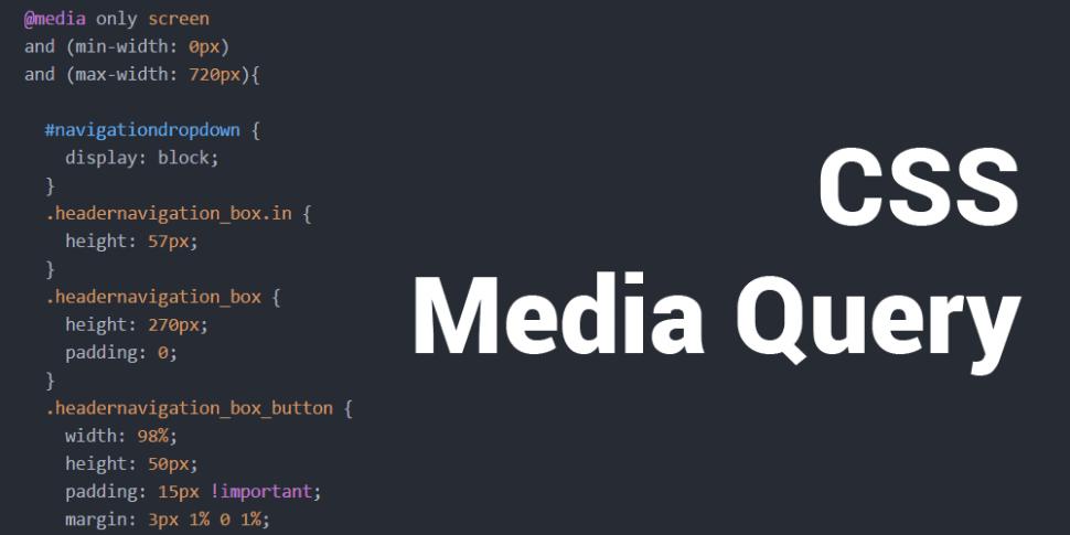 CSS Media Query Teaser