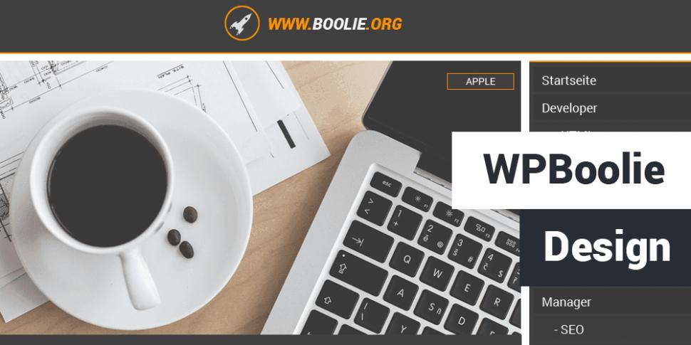 WPBoolie Design Teaser