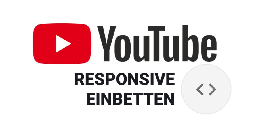 Teaser Youtube responsive einbetten