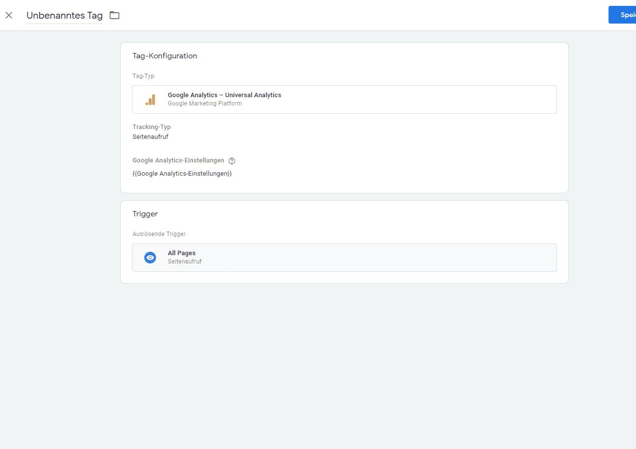 Seitenaufrufe definieren