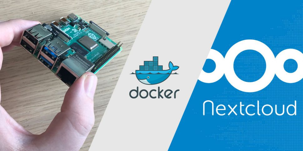 pi server docker nextcloud teaser