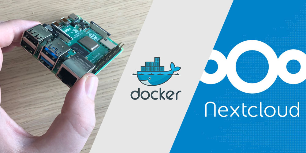pi server docker nextcloud teaser