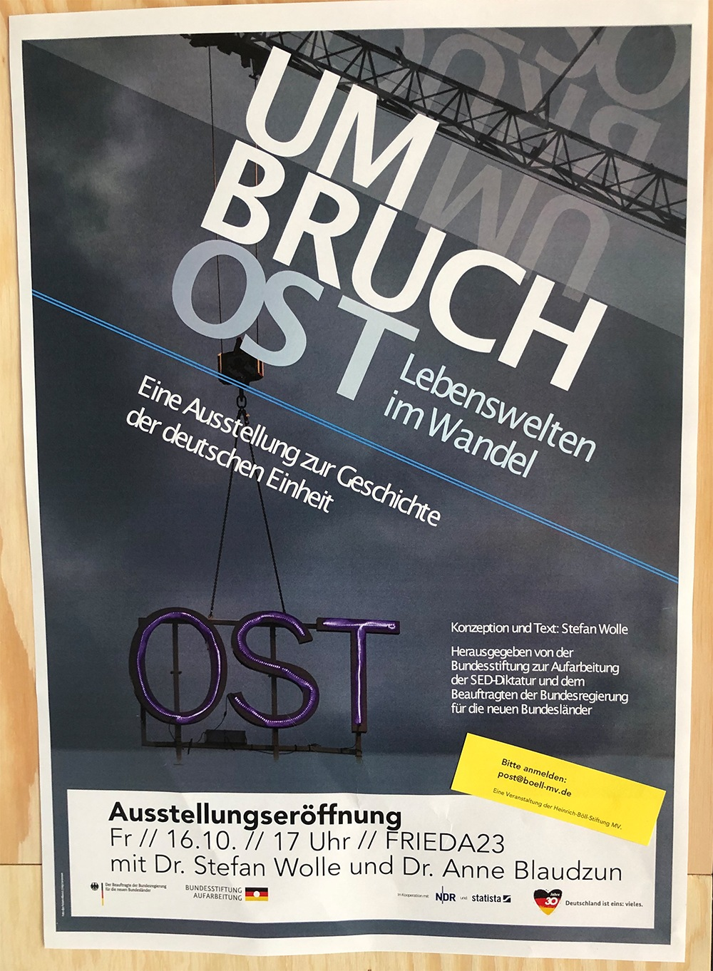 DDR Ausstellung - Umbruch Ost