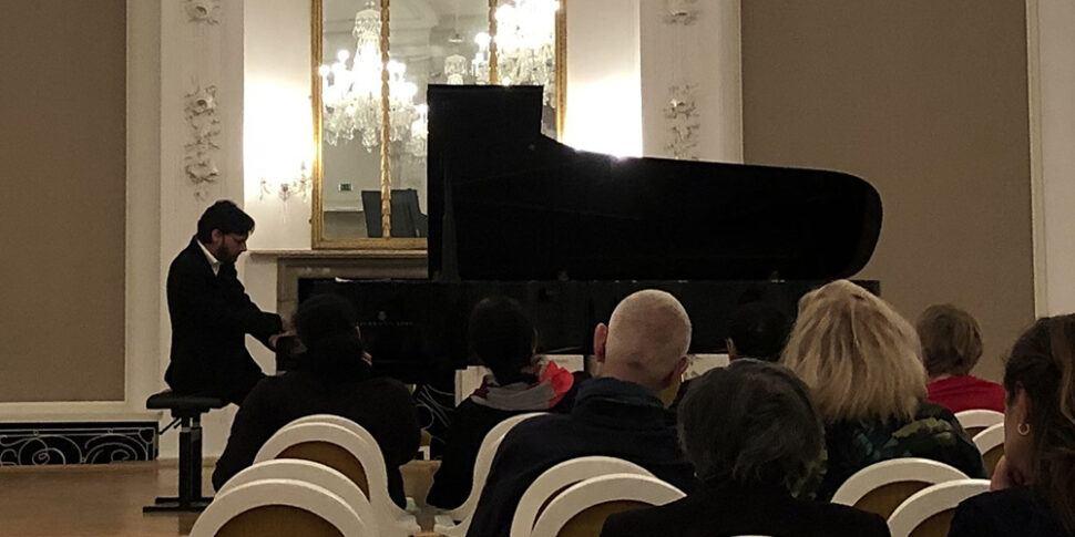 klavier konzert im barroksaal rostock