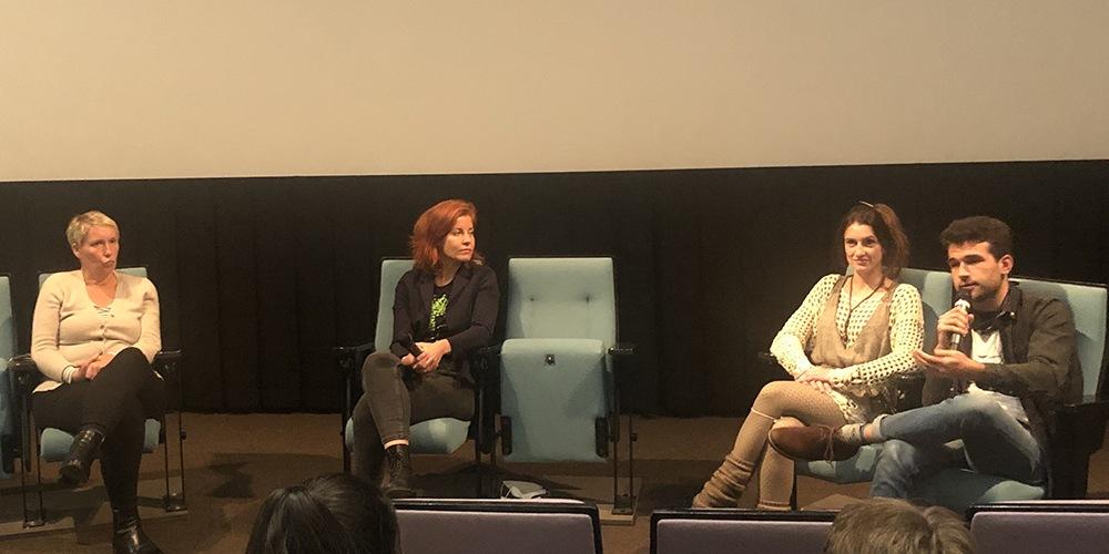 Podiumsdiskussion zum Film NOW in der Frida 23