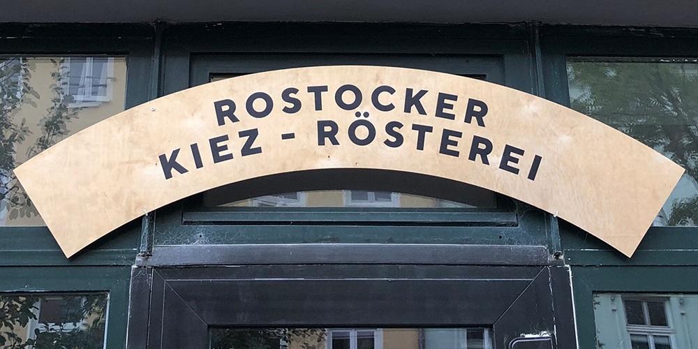Rostocker Kiez-Rösterei Eingang