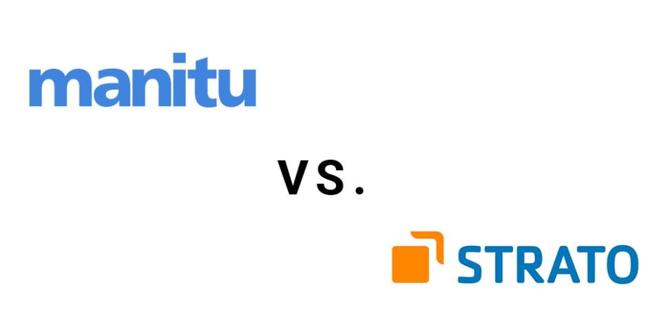 Webspace Leistungsvergleich Manitu vs Strato