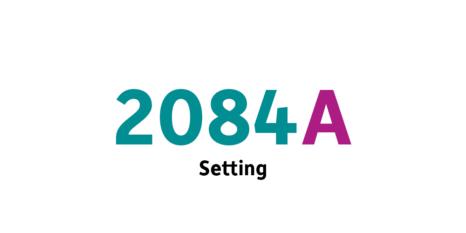 2084 Setting einer Geschichte